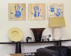 Handprint Art, Hand Prints Decoration, Handprint Gift – Familyprint