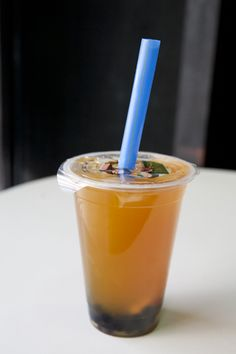 What is Bubble Tea & Mango Bubble Tea by @GourmetGetaways #bubbletea #tea
