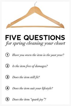7 Spring Cleaning Fashion Tips to Declutter Your Closet! http://thecurvyfashionista.com/2017/03/7-spring-cleaning-closet-tips/