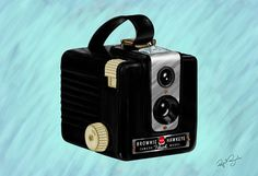 Brownie Camera  My Mom had one!  Took it on a class field trip to the Constitution ship in Boston.