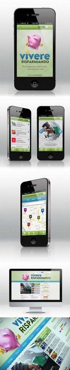 Mobile Ui and Web interface - Sample Work by Riccardo Russomanno, via Behance: Ui Design Inspiration, Application Design, Web Design Trends, Mobile Design, Mobile Ui, User Interface, Web Development, Iphone, Behance