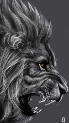 Lion by adorables funny graciosos hermosos salvajes tatuajes animales Lion Images, Lion Pictures, Lion Wallpaper, Animal Wallpaper, Teal Wallpaper, Lion Tattoo Sleeves, Sleeve Tattoos, Lion Head Tattoos, Lion Tattoo Design
