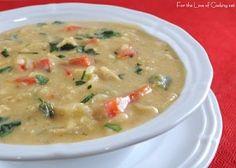 Southwestern Cream of Chicken Soup