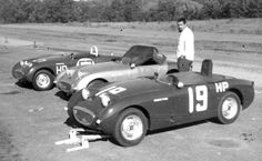 Frogeye Sprite Race Cars