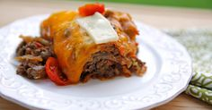 Beef and Cabbage Casserole, Cheesy Beef and Cabbage Bake, Beef & Cabbage Bake, Low Carb Beef and Cabbage Bake, Healthy Casserole, Wheat Belly