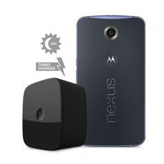 Nexus 6 cuenta con una ventaja que suaviza el aspecto de la autonomía, el Turbo Charger.
