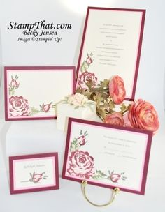 Stampin' Up! A Rose is a Rose Stamp set