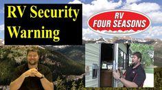 RV Lock Security Warning - YouTube