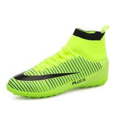 edfedd69b77 FANCIHAWAY TF football soccer shoes men new 2017 FG High Ankle indoor  soccer cleats Turf superfly