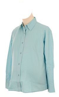 Lilo Maternity Textured Long Sleeved Shirt (X-Small, Blue) Lilo Maternity. $26.00