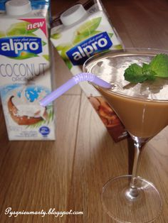 Coconut & Chocolate Frappe