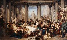 Thomas Couture - Romains de la décadence