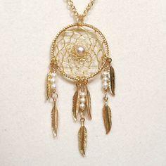 11. #perle & or collier #Dreamcatcher avec plumes - 29 #pièces de…