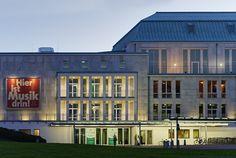 Saalbau / Philharmonie Essen Architekturphoto Mark Wohlrab