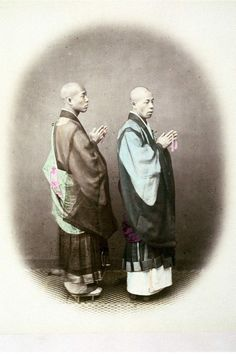 PRIESTS OR ZEN SHU. THESE Priests are of the Nitchi-ren-shu sect, an order of about six hundred years standing. Their beads, which are one hundred and eight in number, are supposed to correspond with the catalogue of mortal sins, which must be atoned for by prayer, &c.........PARTAGE OF JAPAN SPECIALIST........ON FACEBOOK......