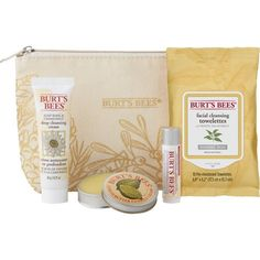 2f47fe852935 Burt s Bees Essentials Travel Kit Holiday Gift Set