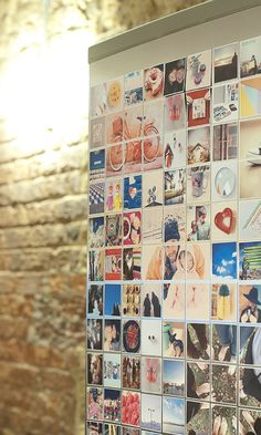 polaroid wall instead of magnets ? Kids Magnets, Photo Magnets, Fun Crafts, Arts And Crafts, Dyi, Projects To Try, Craft Projects, Decorative Objects, Diy Art
