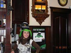 #Stpatrickweekend #CobhPub #Sada #Spain #Guinness #Spain #Fun #beer