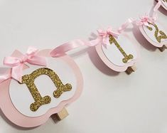 Princess Photo Banner in pink and gold. First Birthday Garland. Custom Colors Princess Photo Banner in pink and gold. Birthday Picture Banner, Birthday Garland, First Birthday Pictures, Photo Banner, Princess Photo, Little Princess, Pink Princess, 12 Month Pictures, Baby Pictures