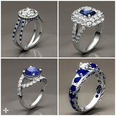 If you could only pick one... which would it be? (Custom engagement rings by Brilliance.com)