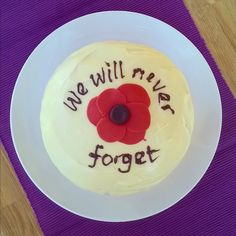 My Remembrance Sunday cake x Remembrance Sunday, Cake Ideas, Desserts, Food, Tailgate Desserts, Deserts, Remembrance Day, Essen, Postres