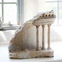 miniature columns and pillars carved into marble by matthew simmonds (9)