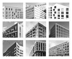 En haut: Helsinki (Jätkäsaari), Oslo (Fjord City), Stockholm (Royal Seaport). Au milieu: Stockholm (Royal Seaport), Copenhague (Nordhavnen), Helsinki (Jätkäsaari). En bas: Helsinki (Jätkäsaari), Londres (Nine Elms), Stockholm (Royal Seaport) | Luca Picardi