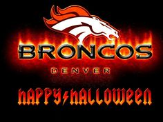 Happy Halloween from the Denver Broncos!!