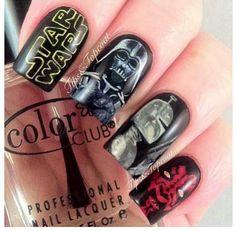 Star war nails ♡
