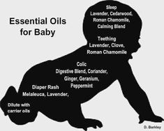 Essential oils for baby. ALWAYS remember to dilute ♡♡♡♡ #homecare