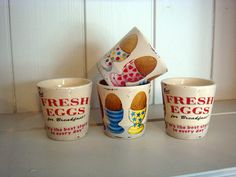 Fresh eggs.... Accessories Vintage, Retro and French Country Style Kitchen Accessories