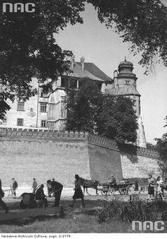 Zamek Królewski na Wawelu. Lipiec 1942