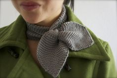 Ravelry Free Scarf Patterns | Ravelry Free Pattern : Lisa Duron's Knitted Neck Scarf @ DIY Home ...