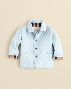 Burberry Infant Boys' Colin Quilted Jacket - Sizes 3-18 Months