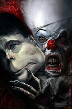 """LOVE this artwork for Stephen King's, """"It""""!"""