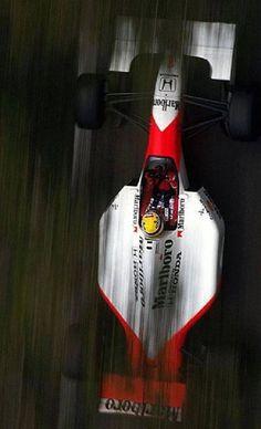 Ayrton Senna l McLaren Honda F1 Mexico, Formula 1 Car, Mclaren F1, F1 Drivers, Automotive Art, Indy Cars, F1 Racing, Car And Driver, Vintage Racing