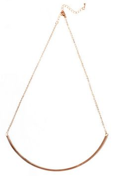 Well Rounded Necklace $14 at www.tobi.com