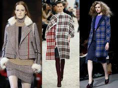 The trend: Check On It  From heritage tartan and houndstooth to statement-making laundry bag checks, squares and right-angles superseded the circle and dot prints of old to become the shape – but not the silhouette – of the season.