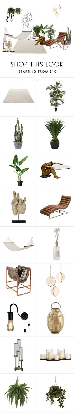 """""""Chill out"""" by laerkekb ❤ liked on Polyvore featuring interior, interiors, interior design, home, home decor, interior decorating, &Tradition, Nearly Natural, Laura Ashley and Bloomingville"""