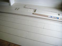 50 cent per square food faux rustic painted wood floors . . . . AMAZIMG