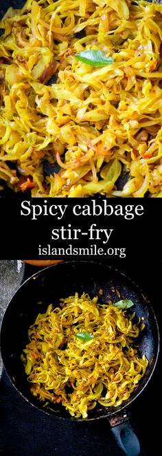Spicy chilli cabbage stir-fry image