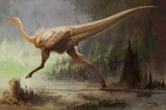 Gallimimus Stride by ~cheungchungtat