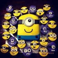 purple minion birthday cake - Google Search