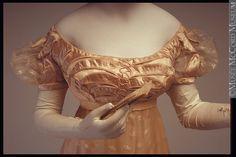 ca. 1815, silk