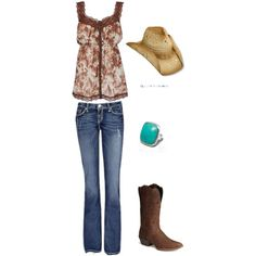 Southwest Style, created by sarimn on Polyvore