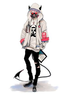 ¤ ¤ ¤ ¤ 🗝If you realize that you're the problem, then you can change yourself, learn something and grow wiser. Don't blame other people for your problems. Manga Anime, Anime Demon, Manga Art, Anime Art, Cool Anime Guys, Hot Anime Boy, Anime Girls, Mode Cyberpunk, Handsome Anime