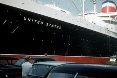 SS United States in New York 1959