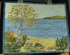 Landscape Quilt | KiKi | Pinterest | Landscape quilts, Landscape ... : landscape quilt patterns - Adamdwight.com