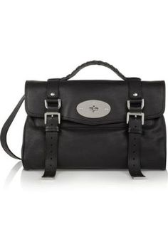 The Alexa leather satchel #satchel #women #covetme #mulberry