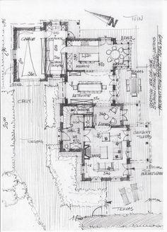 3D + Schetsen - Architect luxe woningen - Architectenbureau Gruwez Oudenaarde - Gent
